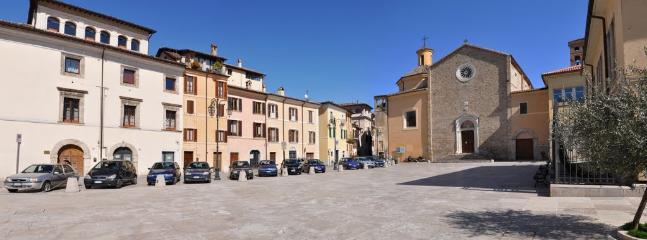 Rieti - Piazza San Francesco