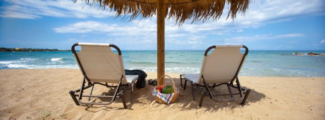 relaxation and serenity at Levendochori beach