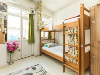 Bed in cozy 6-bed female dormitory, Istanbul