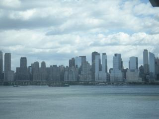 Hudson River view's of New York City, West New York