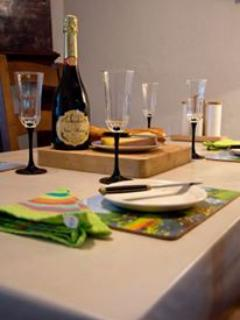 There is ample tableware in the cottage to meet all of your needs.