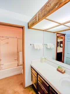 Aspen Creek #401 - Master bathroom with vanity