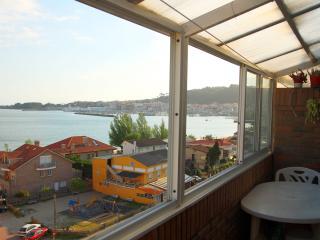 Views to the sea, near the beach, Cangas do Morrazo