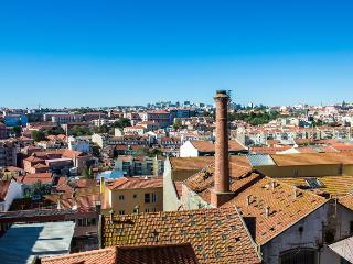 Magnificent view over the city, Lissabon