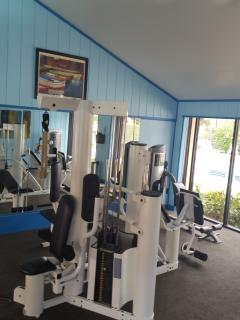 On site gym free access to guests
