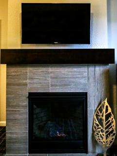 Fireplace in Every Living Room -- TV's in Living Room and in all Bedrooms