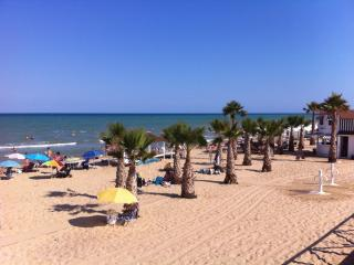 lovely beach from guardamar 14 km, no stress to find a place in the sun
