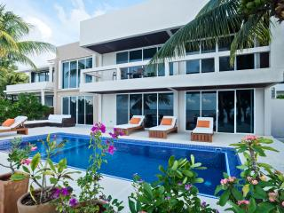 Magnificent 4 Bedroom Villa on White Sandy Beach, Cozumel