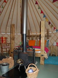 Peek inside The Secret Yurts