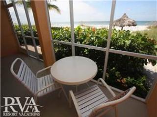 Beach front condo in Longboat Key