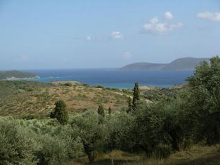3 bedroom villa, panoramic views, pool, air-con., Methoni