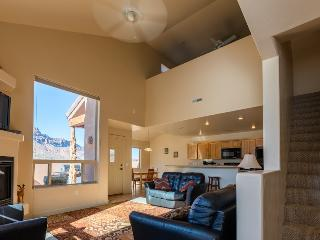 Living Room.  2 Big Picture windows.  Great View, lots of natural light