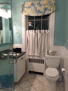 Bathroom #1 with walk in shower