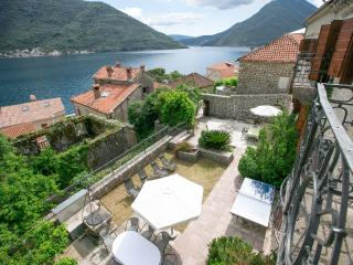 Former Palace, steps to sea, Perast