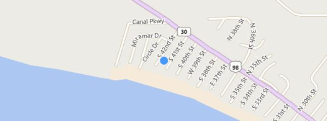 Location!! We are not ocean front but we are ocean side. Which means we have no roads to cross.
