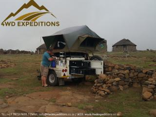 Hire a Fully Equipped Camping/Expedition Trailer