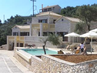 Luxury spacius pool villa Ionia on the sea front, Gaios
