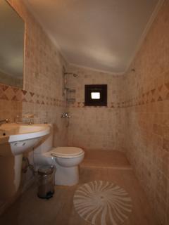 Top floor marble bathroom