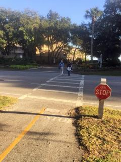 Off-street bike path & cross walk to the beach right out your front door! *this is a key convenience