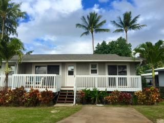 Oceanfront Beach House at Sharks Cove, North Shore, Haleiwa