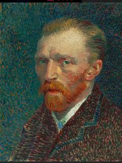 Vincent Van Gogh, his museum is just 10 min. with public transportation.