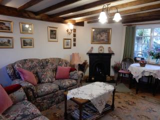 A small cosy cottage ideal for two -four persons. travel cot available.