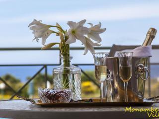 Monambeles CLEO-Superior Sea View Villa, Whirlpool, Svoronata