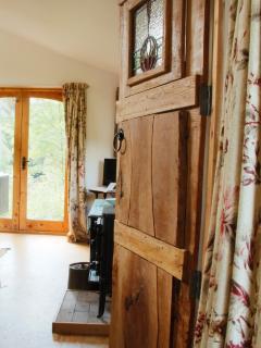 Flat bedroom door