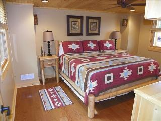 Cabin is located at the edge of beautiful Tellico, Tellico Plains