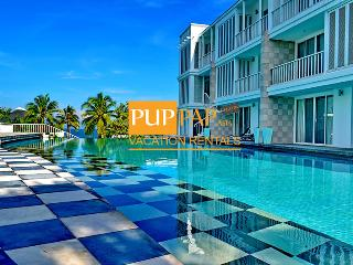 2Br with beachfront condo - Malibu By Puppap 053, Khao Tao