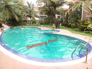 Goa Rentals 2Bhk Luxury Apartment with AC,Pool,Candolim