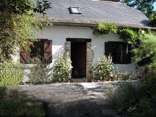 Peaceful 17th century farm cottage with pool, Lasseube
