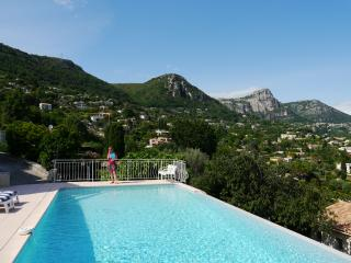 Villa with infinity pool and spectacular views