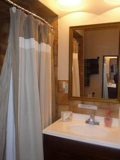 Linens and bath towels, beach towels provided; washer and dryer on main level