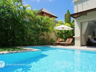 Tropical holiday 2-bedroom pool villa in style