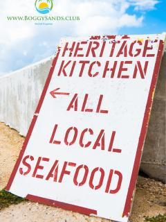 Heritage Kitchen is a short walk down Boggy Sand Rd.
