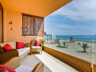 -SEA VIEW- Bora Bora Apartment next to Ushuaia,HRH, Playa d'en Bossa