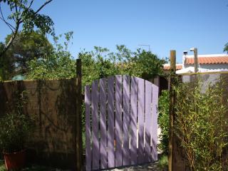 Entrance to private garden