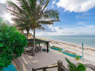 Nautical family retreat on Yucatan beachfront.