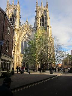 York Minster just minutes away