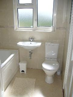 bathroom  - with bath (Aqualisa power shower over bath).There is also an additional separate  toilet