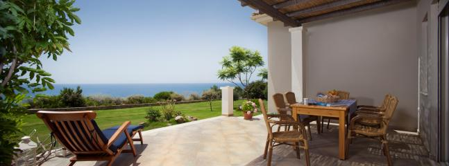 Sea Villa - front terrace with panoramic view of the Ionian Sea