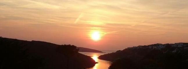 Sunset over Crantock