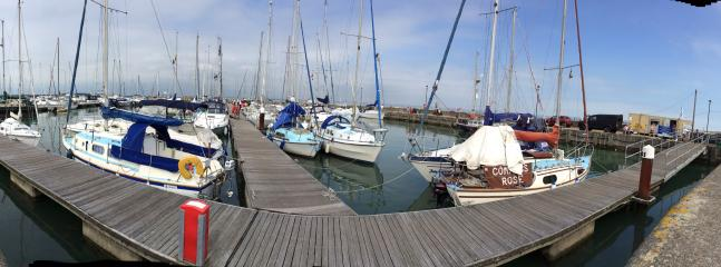 Ryde harbour, grab fish n chips and watch the boats, great place for the kids to crab.