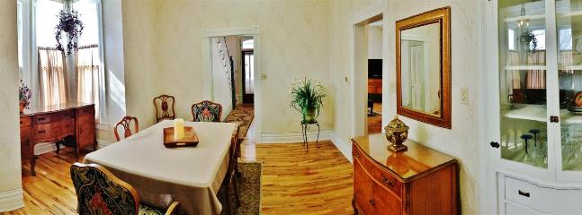 Enjoy your meals in this elegant dining room