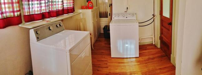 In-unit washer and dryer provided for your laundry needs