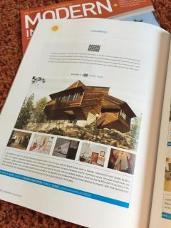 Featured in 'Modern In Denver' Magazine