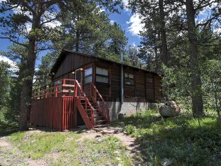 Secluded & Rustic 2BR Allenspark Cabin w/Charcoal Grill, Large Deck & Amazing Mountain Views - Easy Access to Estes Park, Rocky Mountain National Park & More!