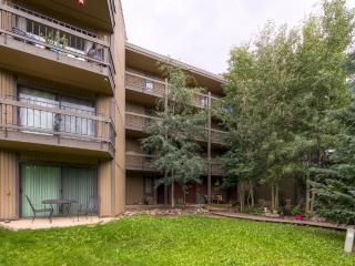 Recently Remodeled 2BR Breckenridge Condo w/Wifi, Private Patio & Gorgeous Alpine Views - Spectacular Location, Directly on Peak 8! 1 Block to the Slopes!