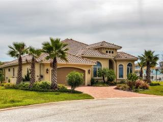 Impressive 4BR Flagler Beach House w/Wifi, Sparkling Private Pool & Boat Dock on Canal - Centrally Located to Beaches, Fishing, St. Augustine & Daytona!